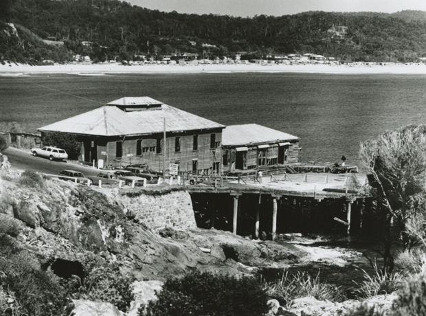Tathra wharf prior to restoration