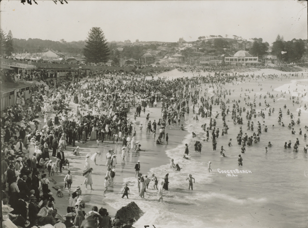 Coogee after daylight bathing laws
