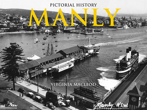 Manly pictorial history book cover