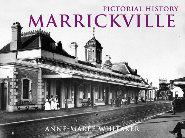 Marrickville pictorial history book cover