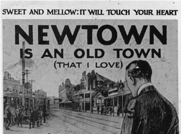 Newtown is an Old Town sheet music