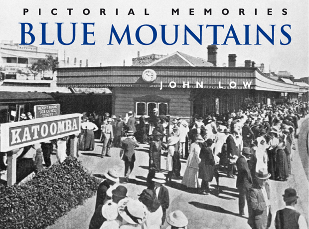 Blue Mountains pictorial history book cover